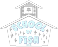 School of Fish Logo DIM